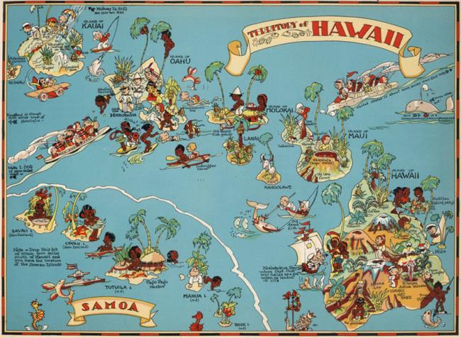 夏威夷在哪个国家(夏威夷群岛为何会成为美国领土)